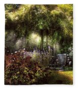 Summer - Landscape - Eve's Garden Fleece Blanket