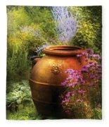 Summer - Landscape - The Urn Fleece Blanket