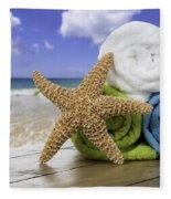 Summer Beach Towels Fleece Blanket