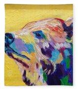 Summer Bear Fleece Blanket
