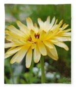 Summer Bloom Fleece Blanket