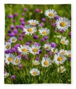 Summer Blooms Fleece Blanket