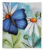 Summer Blue Fleece Blanket