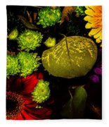 Summer Boquet Fleece Blanket