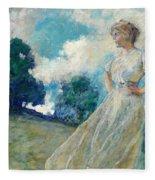 Summer Breeze 1915 Fleece Blanket