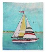 Summer Breeze-d Fleece Blanket