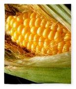 Summer Corn Xl Farm Nature Harvest Fleece Blanket