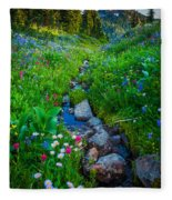 Summer Creek Fleece Blanket