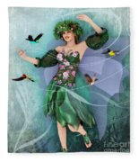 Summer Dance Fleece Blanket