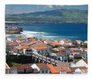 Summer Day In Sao Miguel Fleece Blanket