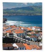 Summer Day In Sao Miguel Fleece Blanket