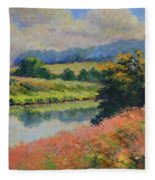 Summer Day Fleece Blanket
