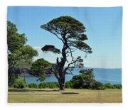 Summer Dunmore East Fleece Blanket