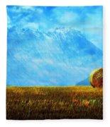 Summer Field Fleece Blanket