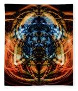 10643 Summer Fire Mask 43 - Logi Fleece Blanket
