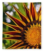 Summer Garden Fleece Blanket