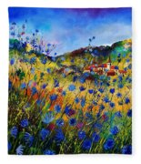 Summer Glory Fleece Blanket