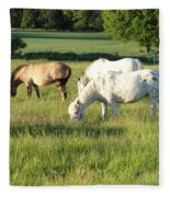 Summer Grazing Fleece Blanket