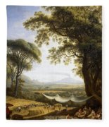 Summer Harvest On Caserta Plain Fleece Blanket