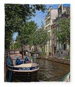 Summer In Amsterdam-1 Fleece Blanket