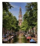 Summer In Amsterdam-2 Fleece Blanket