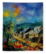 Summer In Mogimont Fleece Blanket