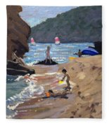 Summer In Spain Fleece Blanket