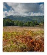 Summer In The Bald Hills 1 Fleece Blanket