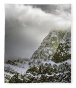 Summer In The Rockies Fleece Blanket