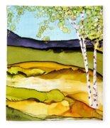 Summer Landscape I Fleece Blanket