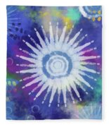 Summer Of Love 2- Art By Linda Woods Fleece Blanket