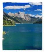 Summer On Medicine Lake Fleece Blanket