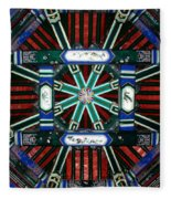 Summer Palace Ceiling Fleece Blanket