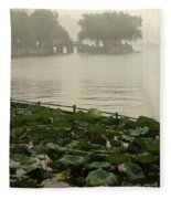 Summer Palace Serenity Fleece Blanket