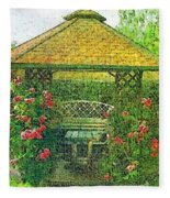 Summer Shelter Fleece Blanket