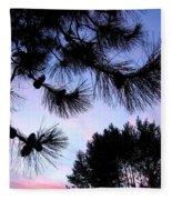 Summer Silhouettes Fleece Blanket