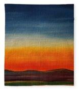 Summer Stillness In Montana   71 Fleece Blanket