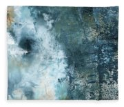 Summer Storm- Abstract Art By Linda Woods Fleece Blanket