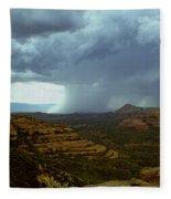 Summer Storm Fleece Blanket