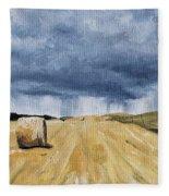 Summer Storms Fleece Blanket