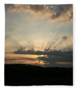 Summer Sunrise Spectacular Fleece Blanket