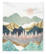 Summer Vista Fleece Blanket