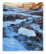 Summerland Creek Fleece Blanket
