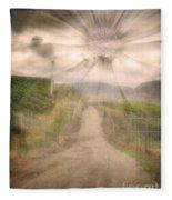 Summer's Last Light Fleece Blanket