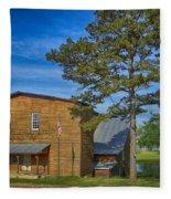 Summersville Mill Ozark National Scenic Riverways Dsc02626 Fleece Blanket