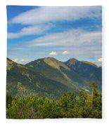 Summertime Alps In Germany Fleece Blanket