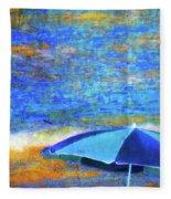 Summertime-iii Fleece Blanket