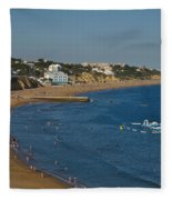 Summertime In Albufeira Fleece Blanket