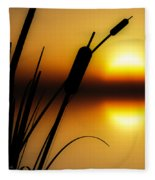 Summertime Whispers  Fleece Blanket