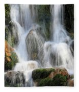 Summit Creek Waterfalls Fleece Blanket